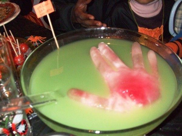 idées recettes pour HALLOWEEN: cocktail des sorciers
