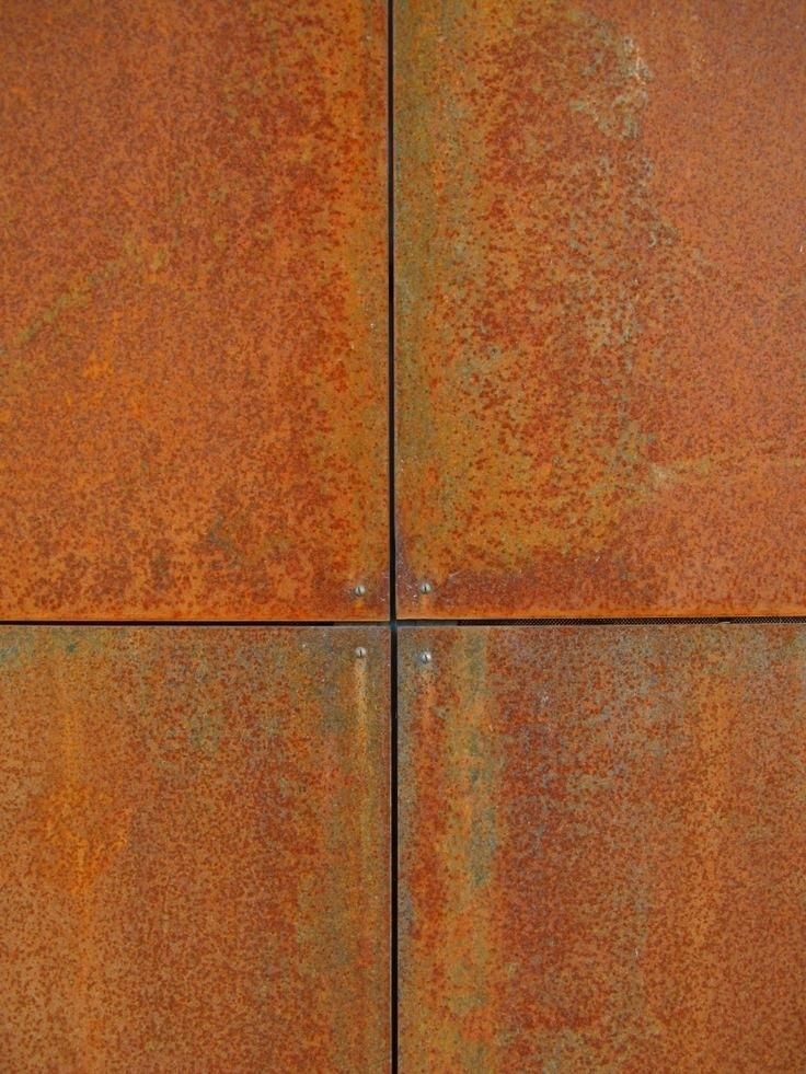 Corten Steel Panels Steel Panels Beautiful Rich Color With Aging Is Expensive But Using Less Costly And Lighter St Weathering Steel Steel Cladding Corten Steel