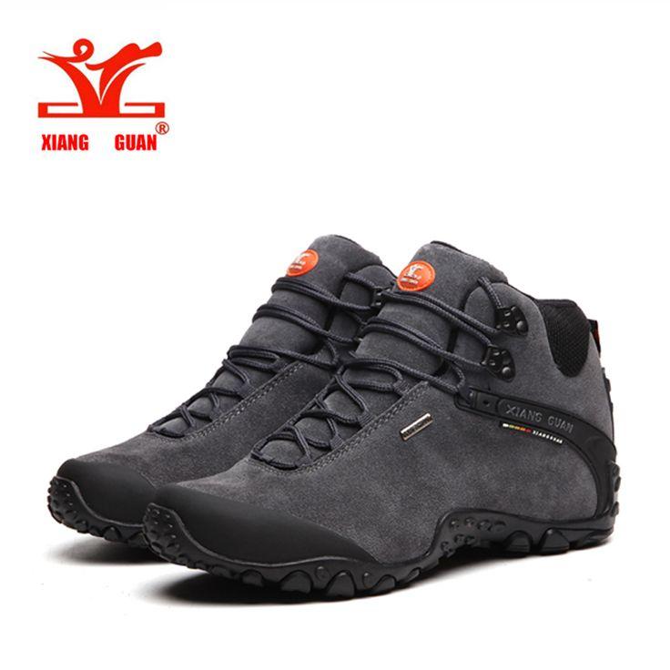 2016 XIANGGUAN Outdoor Shoes High Quality Anti-Fur Man Martin Hiking Shoes Travel Desert Tactical boots Warm Sneakers EUR 36-48