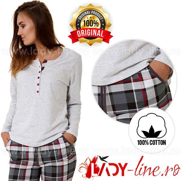 Pijamale Dama Bumbac M-Max - Pijamale calitate superioara din bumbac 100%