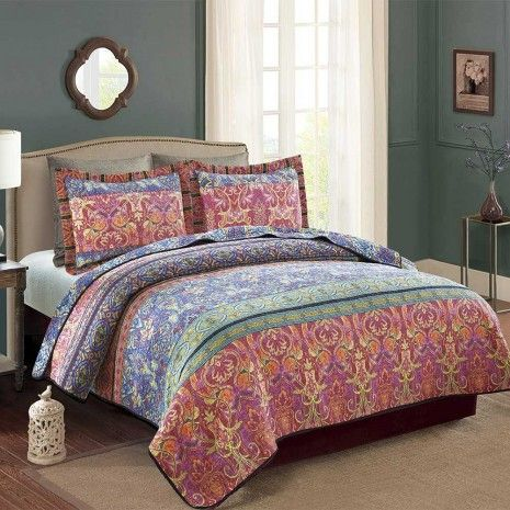 Fiori Quilt Collection - Shams - Duvet Covers, Comforters & Basics - Bedding