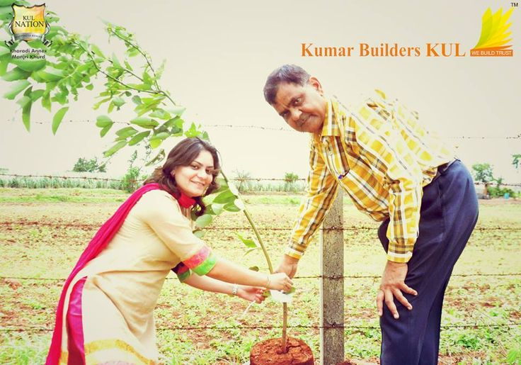 Tree Plantation Ceremony at KUL Nation on the occasion of Independence Day. This event was organized by Kumar Builders KUL.