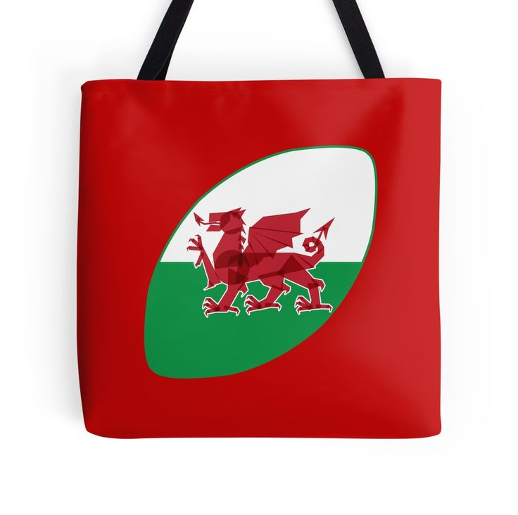 Rugby Wales tote bag by Fimbis _________________________________ #RWC2019 #RWC #rugby #dragon #welsh #Rygbi #graphicdesign #tote #reddragon #bags #shopping #cardiff #swansea #collage #red #shoppingbag #sixnations #6nations