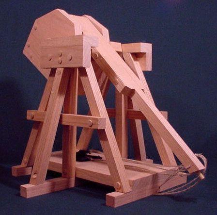 working trebuchet model 1