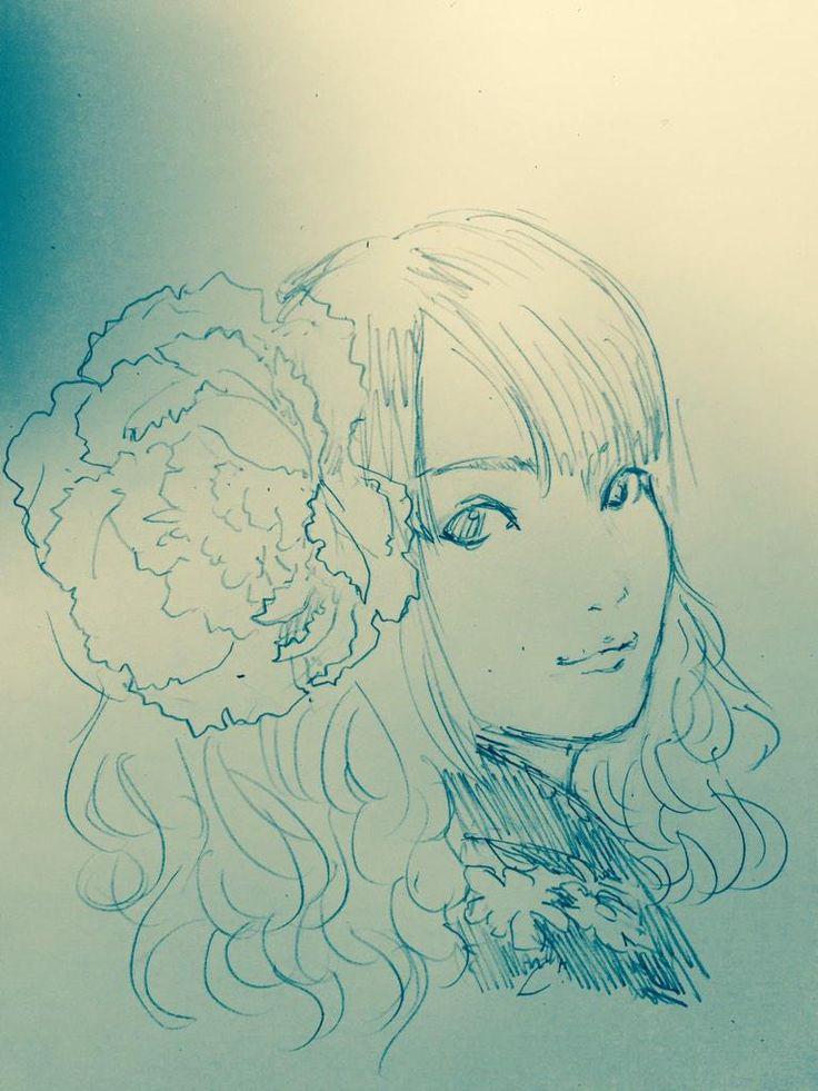 御伽ねこむさん描きましたー 藤島康介@パラダイスレジデンス発売中 @fujishimakosuke
