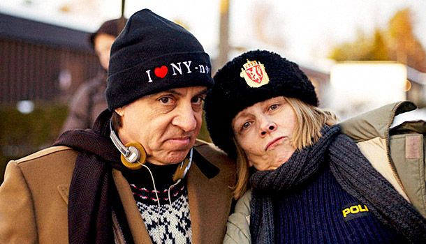 Netflix original series (yeah, that's right), Lillyhammer, starring Little Steven Van Zandt not straying far from his Soprano's role.