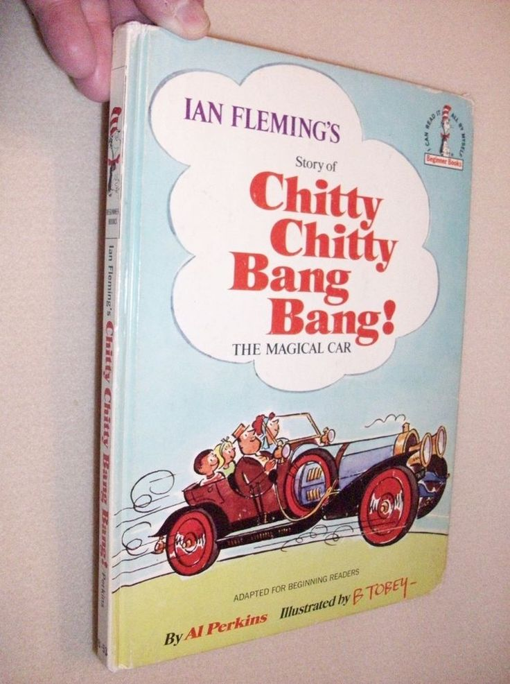 1968 Chitty Chitty Bang Bang Beginners Book in Great Condition! RARE this good!