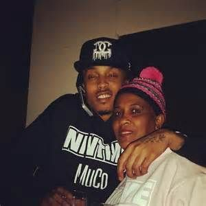 august alsina mom, Sheila awwwwwwwwww i love how much he loves and cares about his mama. their relationship is far from perfect but they love eachother unconditional!!!! awwwww they cute.