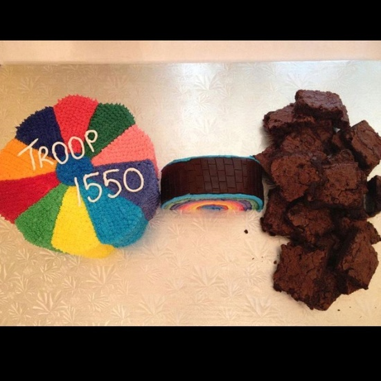 Cake Ideas For Girl Scouts : 17 Best images about Bridging on Pinterest Scouts, Girl ...