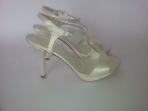 Model: Rebecca - Collezione di Scarpe da Sposa di Gloria Saccucci