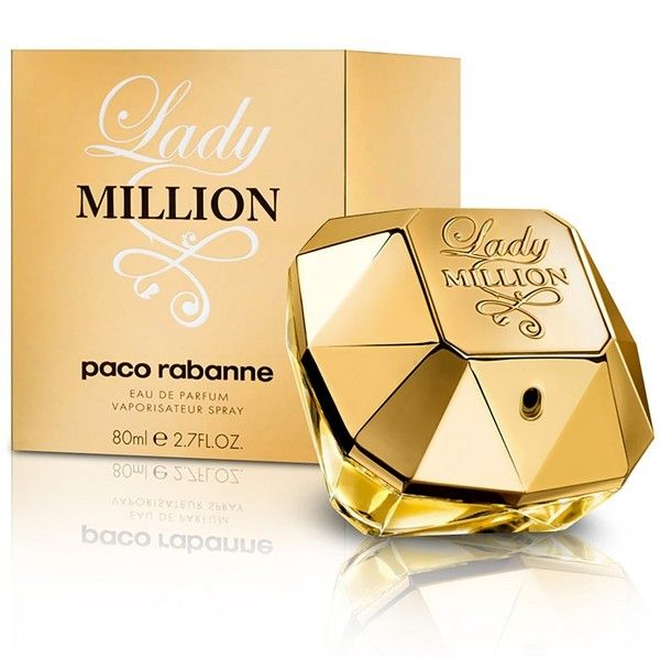 Launched by the design house of Paco Rabanne in 2010, Paco Rabanne Lady Million by Paco Rabanne for Women posesses a blend of: raspberry, lemon, neroli, jasmine, gardenia, orange flower, patchouli, white honey.