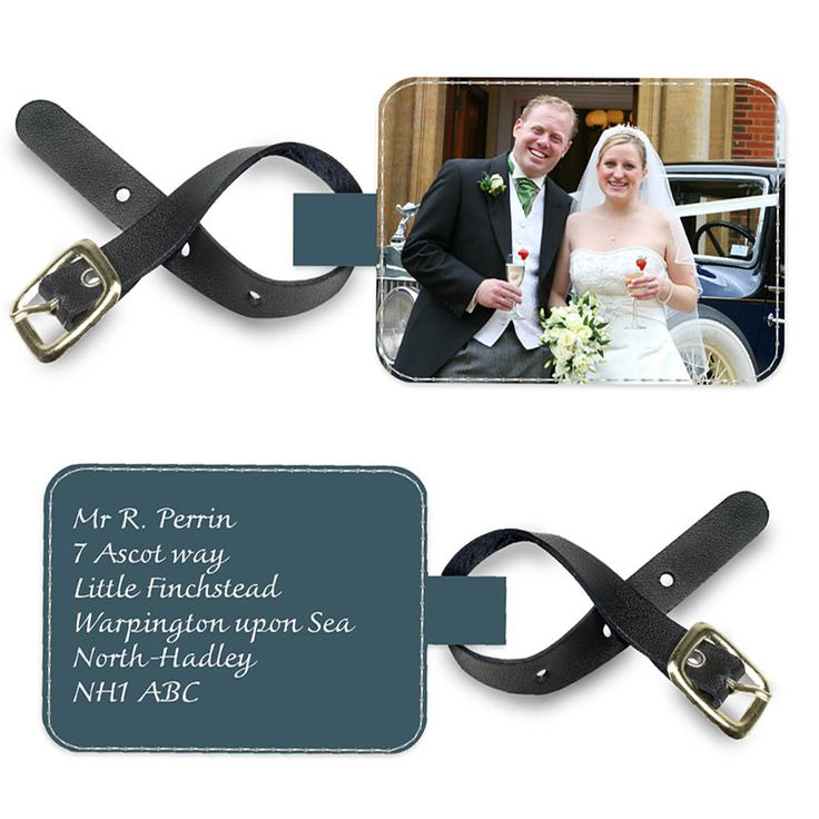 Personalised Luggage Tags £14