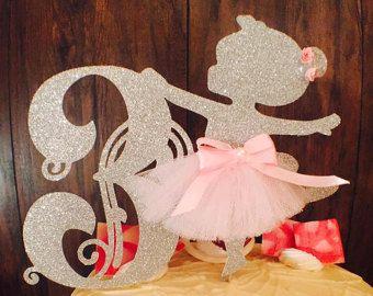 La torta de bailarina Ballerina fiesta por MemoryKeepsakeParty