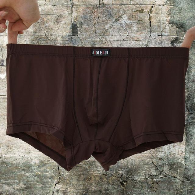 Man/'s Silky soft Solid Boxer Brief Men/'s Underwear S M L XL