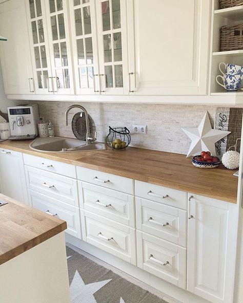 De 25 bedste id er inden for cr dence cuisine ikea p pinterest etagere cuisine ikea la - Credence keuken wit ...