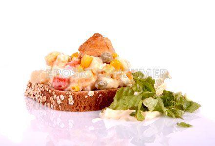 Receta de ensalada americana de pollo | EROSKI CONSUMER