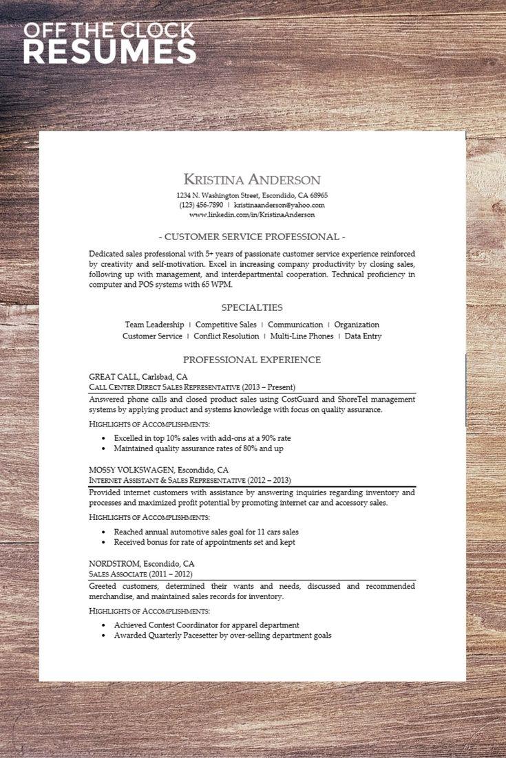 sales professional resume samples