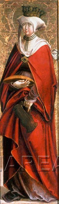 Hl. Elisabeth von Thüringen 1495-1505; Lienz; Österreich; Osttirol; Schloss Bruck http://tarvos.imareal.oeaw.ac.at/server/images/7003692.JPG