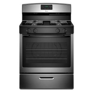 Amana 5.1 Cu. Ft. Gas Range In Stainless Steel