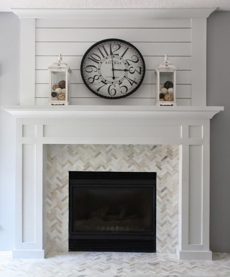 25 Best DIY Fireplace Makeovers | Sally from Love of Homes