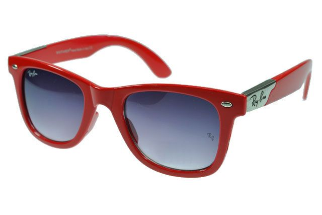 a34b101ca68 Ray Ban Sunglasses Wayfarer Red Pattern Frame Grey Lens