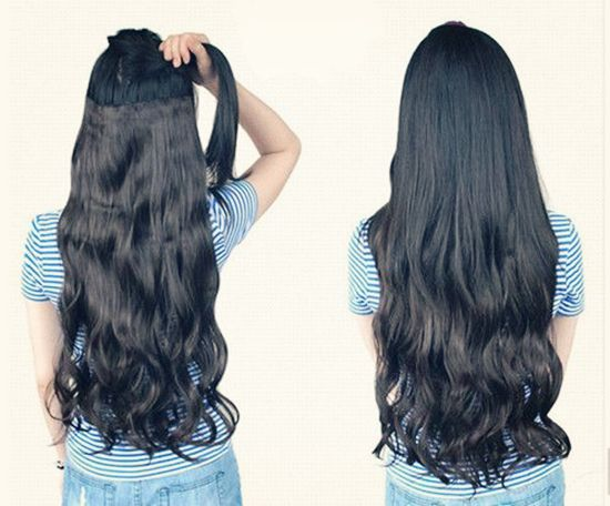 hairstyles with dreads : Hairstyles with Clip in Extensions cheap 24 inch hairdo extensions ...