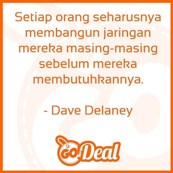 """""""Everyone should build their network before they need it."""" - Dave Delaney - New Business Networking"""