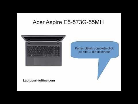 Prezentare #laptop Aspire E5-573G-55MH Core i5