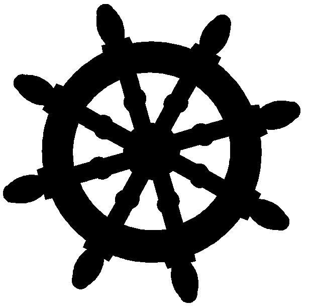 Free Silhouette Ships Wheel Clipart Google Search Manicure