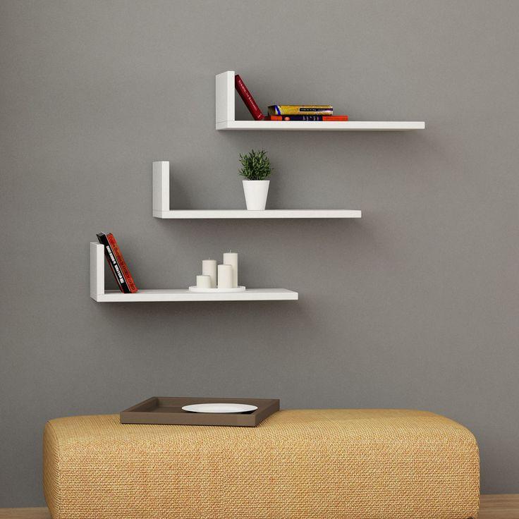 L- Model Shelves