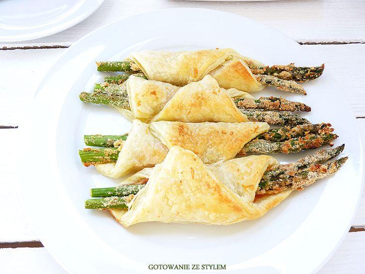 Crispy asparagus in puff pastry | Gotowanie ze stylem