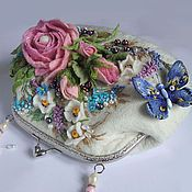 Магазин мастера Гуляева Ольга: женские сумки, колье, бусы, шали, палантины, платья, шарфы и шарфики