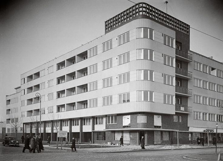 Kamienica Jana Wedla  arch. Juliusz Żórawski, 1935–1936, ul. Puławska 28  foto: Czesław Olszewski