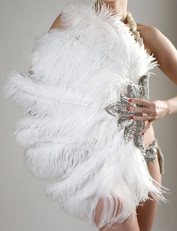 Burlesque Feather Fans by Talulah Blue by Talulahblueburlesque, £72.99