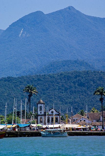 Paraty, Rio de Janeiro, Brazil-awesome trip with my husband--6-hour kayaking adventure on Christmas Day & then returning to this little town to explore its colonial streets for a few more days. Good meals, beautiful place, great trip & incredible memories!
