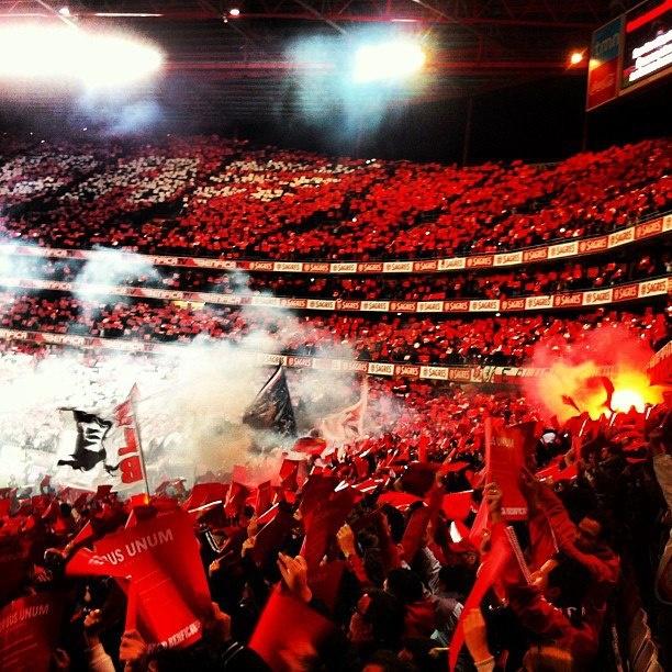 Benfica - Porto Estádio da Luz No Name Boys Topo Sul