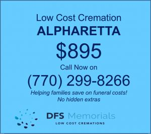 Arranging an affordable cremation service in Alpharetta, GA – Just $895