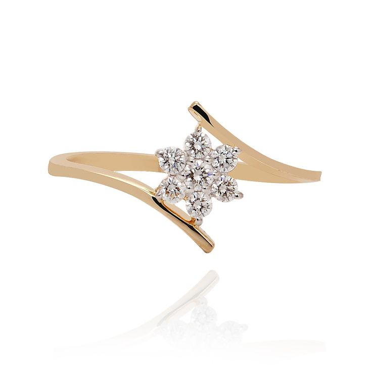 Flowers are the music of the ground, from the Earth's lips spoken without sound. #Flowers #Music #Ring #Diamonds