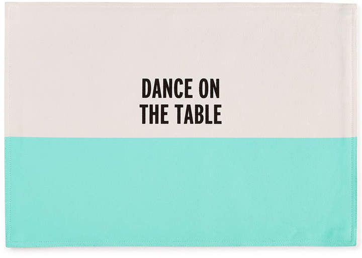 kate spade new york Food for Thought Dance on the Table Placemat #ad
