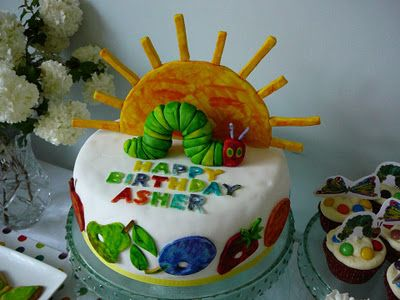 The best cake so far I think! :) Little Housewife: Real Events - The Very Hungry Caterpillar Party