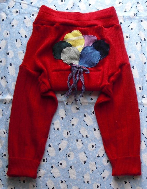 Extra Large XL100% cashmere diaper cover or trainer  by MyWoolieBaby, $16.50
