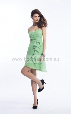 Sleeveless Zipper Sweetheart Short Chiffon Cocktail Dresses drfa307290--Hodress