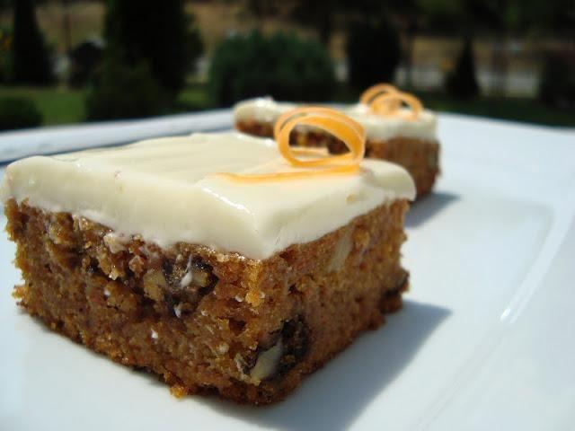 Carrot Cake (κέικ καρότου με γλάσο κρέμας τυριού) | cookcool