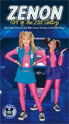 """'Zenon: Girl of the 21st Century' is a 1999 [DCOM], starring Kirsten Storms as the eponymous heroine, and directed by Kenneth Johnson. The film was based on the book 'Zenon: Girl of the 21st Century' written by Marilyn Sadler and Roger Bollen. The film was originally conceived as a pilot for a potential [TV] series. The [TV] series was not picked up, but the film was followed by two sequels, 'Zenon: The Zequel' (2001) and 'Zenon: Z3' (2004)."" #DisneyChannelOriginalMovie #DCOM ~ I remember…"