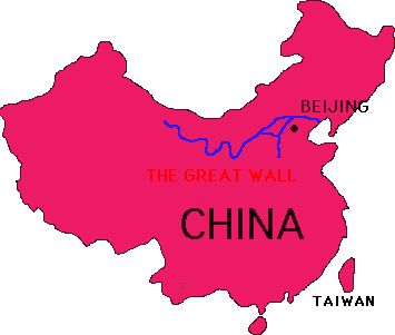 107 best ancient china images on pinterest ancient china antique map of the great wall of china gumiabroncs Images