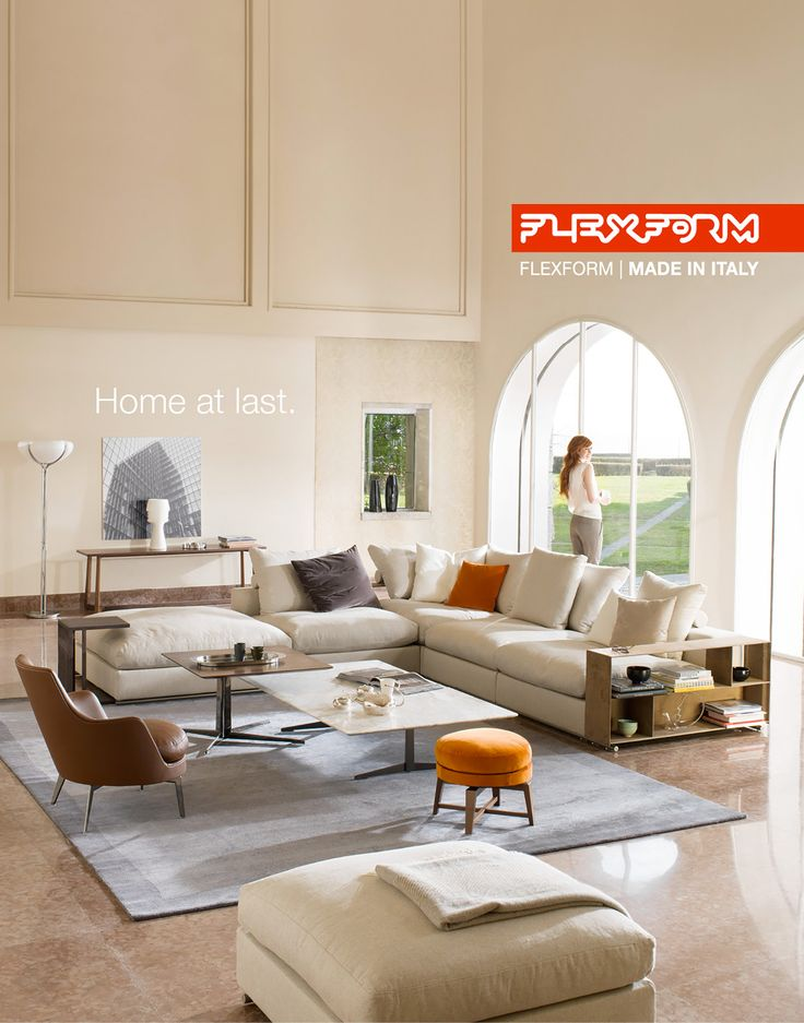 HOME AT LAST. FLEXFORM 2015 NEW ADVERTISING CAMPAIGN ...