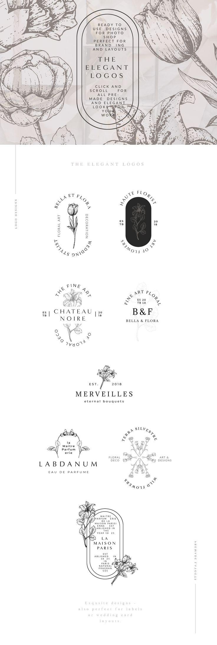 Haute Floral Graphic Bundle #bind#florist#artisan#create