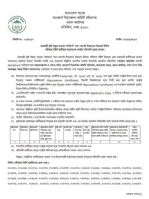Rajshahi Krishi Unnayan Bank (RAKUB) Job Exam Result 2015, RAKUB Job Exam Result, rakub result. rakub officer result 2017, Rajshahi Krishi Unnayan Bank (RAKUB) Job Circular 2015, Rajshahi Krishi Unnayan Bank (RAKUB) Job Circular, Rajshahi Krishi Unnayan Bank (RAKUB) Job,