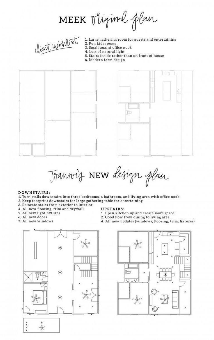 The barndominium magnolia homes bloglovin - Dansby Floorplan Options