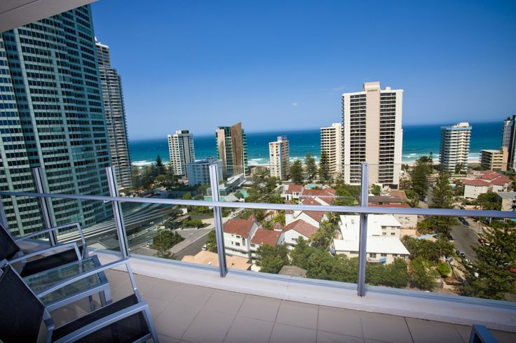 Breathtaking ocean views from your balcony   Wyndham Surfers Paradise, Gold Coast, Queensland, Australia.